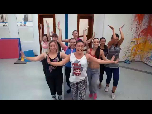 AS Fitness - Magic System – Zouglou dance.Dance Mix by Виктория Павлюк.All Stars Workshop 10.2015