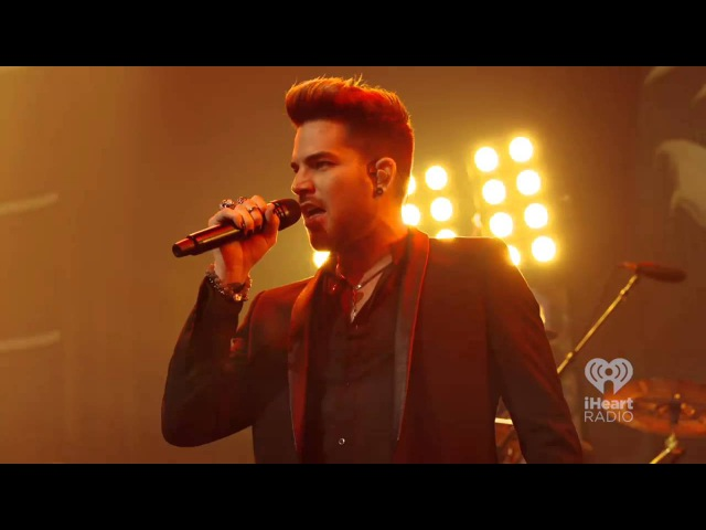 Queen Adam Lambert Another One Bites The Dust iHeartRadio Theater 2014
