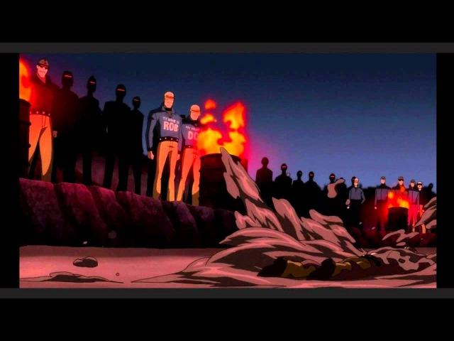 Batman, the Dark Knight Returns - Mutant Leader Fight