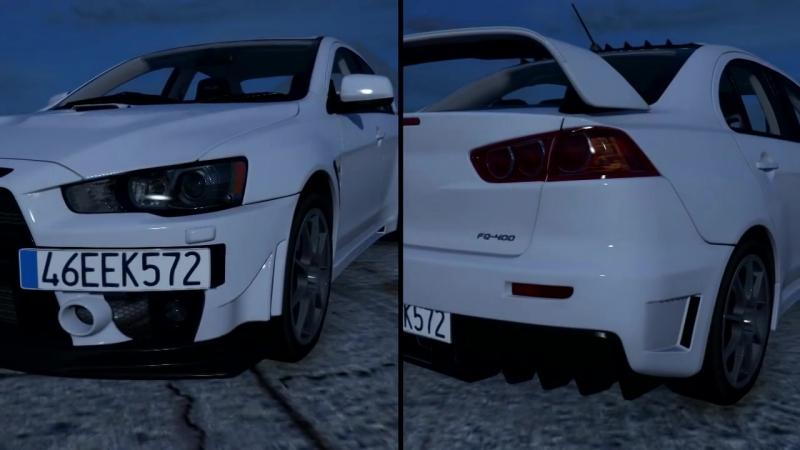 GTA 5 Mitsubishi Lancer Evolution X FQ-400