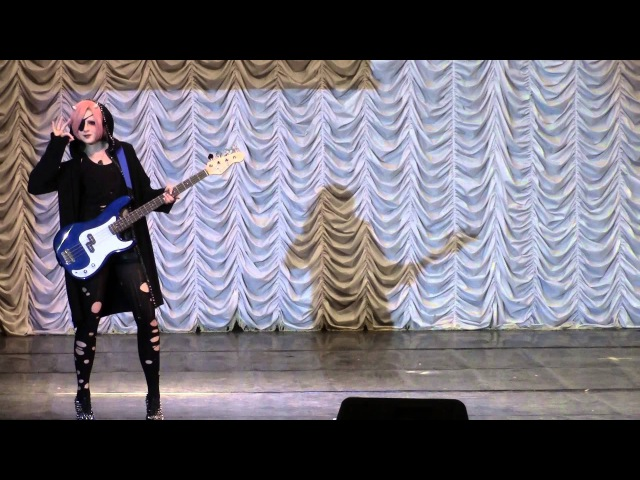 Тогучи 2015 ОДИНОЧНОЕ ДЕФИЛЕ № 16MEJIBRAY j rock band Koichi Emily