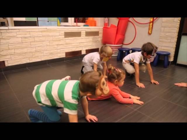 Звероаэробика для детей от 3 до 5 лет. Дом Чудес - семейный клуб.