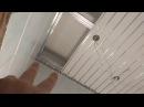 Установка подвесного потолка в ванной своими руками Как сэкономить на подвесно