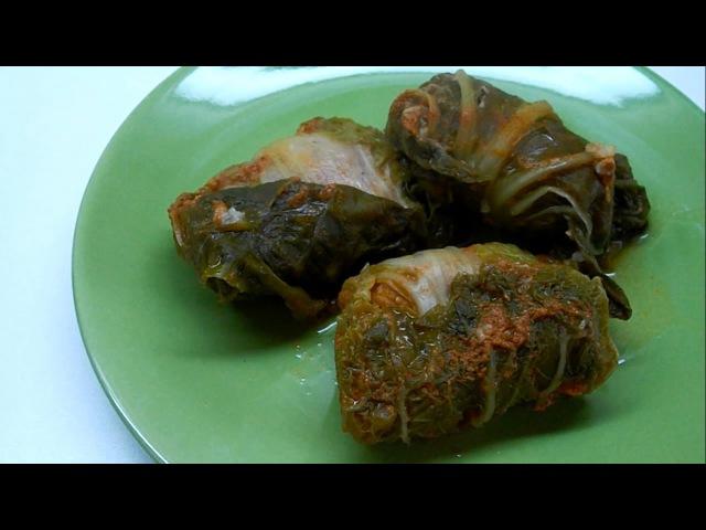 Вкусно и просто Голубцы из пекинской капусты. Пошаговый Рецепт приготовления с видео.
