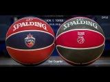 CSKA Moscú (ЦСКА) - Brose Basket Bamberg (Бамберг) // Primer Cuarto J5 TOP16 28.01.2016