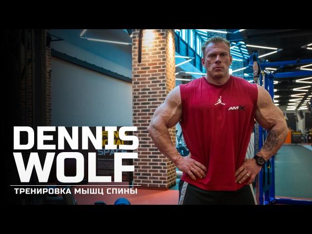 Мастер класс Dennis Wolf Тренировка мышц спины