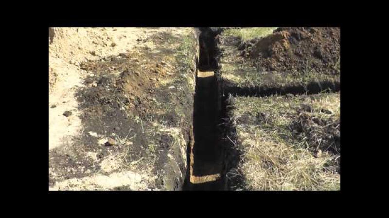 Траншея под ленточный фундамент чем опасна глина