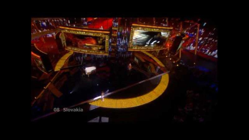 Eurovision 2009 Semi Final 2 08 Slovakia *Kamil Mikulcik Nela Pociskova* *Let' Tmou*16 9 HQ