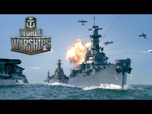 World of Warships - Launch Trailer (the free-to-play MMO naval combat game)