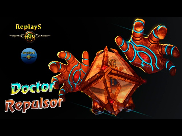 Heroes of Newerth - Doctor Repulsor - Lucky`FF 1830 MMR CIS (hon russian)