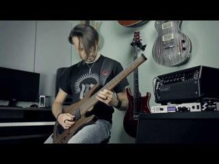 Nugz Blacky Custom Guitars - Singularity 8 - Mesa Boogie Mark V:25 - Metal Test