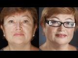 Возрастной вечерний макияж. Секреты профессионального визажа. (Урок №20)