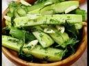 МАЛОСОЛЬНЫЕ ОГУРЦЫ за 25 минут Рецепт соленых огурцов Закуска за 25 минут