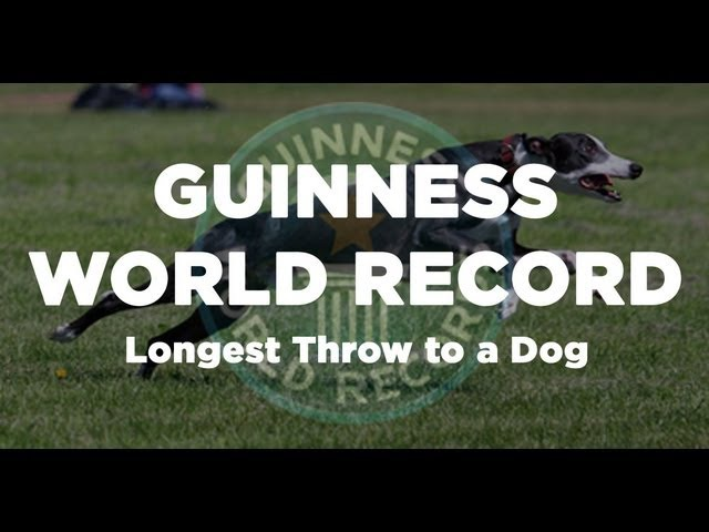 GUINNESS WORLD RECORD - Longest Throw 122m (Davy Whippet)