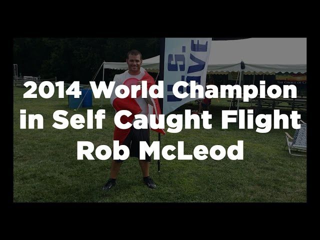 World Champion Rob McLeod Throws a 12.15 second MTA and 74 metre TRC