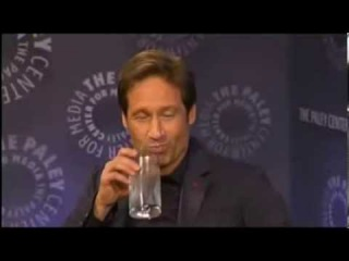 New York Comic Con Paley Center X-Files Q&A with Gillian Anderson and David Duchovny  Part 1