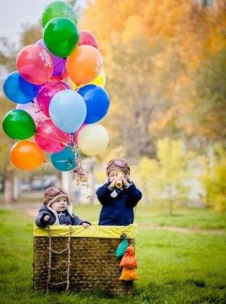Воздушный шар для фотосессии