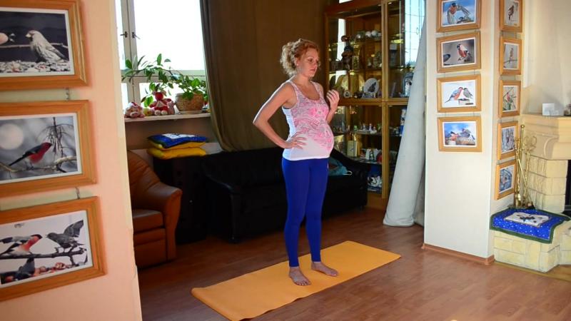 Йогатерапия поясничного отдела во время беременности