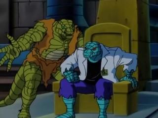 Человек Паук.1994. S4E10 - Lizard King
