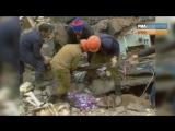 Последствия землетрясения в Армении 7 декабря 1988 года. Архивные кадры (7.12.13
