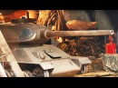 Сварщик сварил двухместный танк для детей