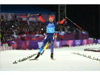 Биатлон Мужчины эстафета 4×7,5 км Олимпиада Сочи 2014!!!!Россия - Олимпийские Чемпионы!!!!