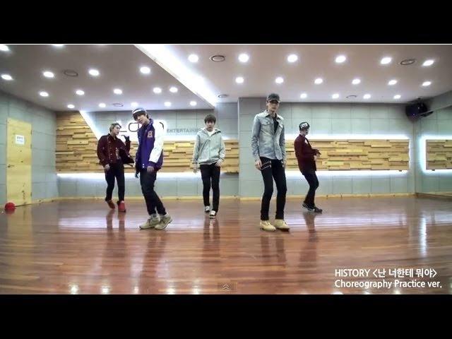 "[BEHIND] HISTORY(히스토리) : ""What am I to you?(난 너한테 뭐야)"" Choreography Practice(안무 연습) [ENG/JPN SUB]"