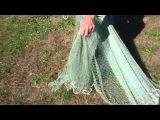 Кастинговая сеть 6.5 метра заброс. Casting net 6.5 meter throw