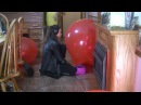 Sit pop 36 inch red  balloons multiple requested