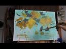Мимоза. Видеоурок. Как научиться рисовать.