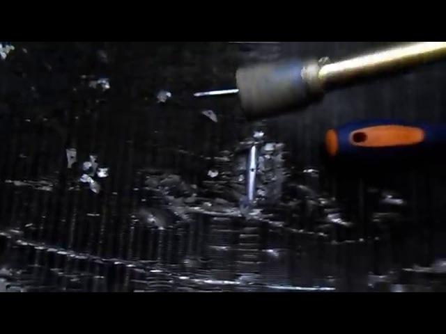 Пайка алюминия Ремонт алюминиевого радиатора
