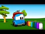 Leo Junior bize renkleri öğretiyor - İtfaiye arabası - Eğitici çizgi film - Türkçe dublaj