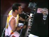 Концерт группы Queen в 1986. Фредди Меркьюри