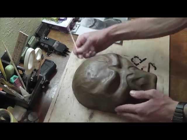 Как сделать маску Спаун из полиморфуса ( 1 часть )