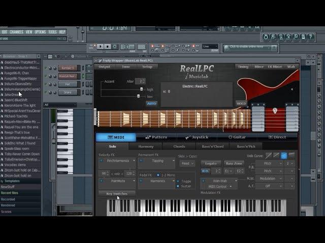 Musiclab Realguitar как сделать приглушку!