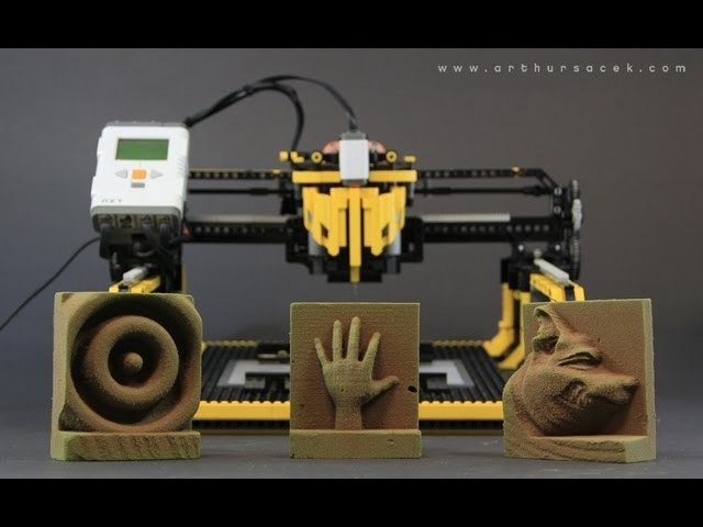 LEGO 3D Milling Machine - 3D Printer