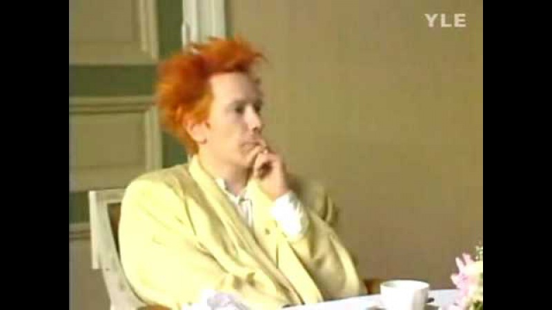 Johnny Rotten - John Lydon- IN FINLAND - LOL - Thanks for over 65,000 VIEWS!