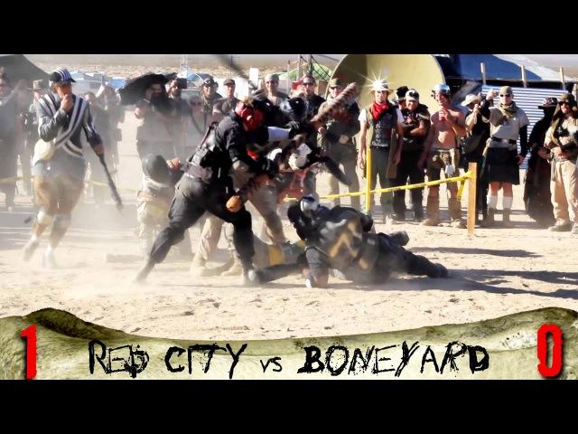 The Red City Juggers vs The Boneyard Juggers @ Wasteland Weekend 2013