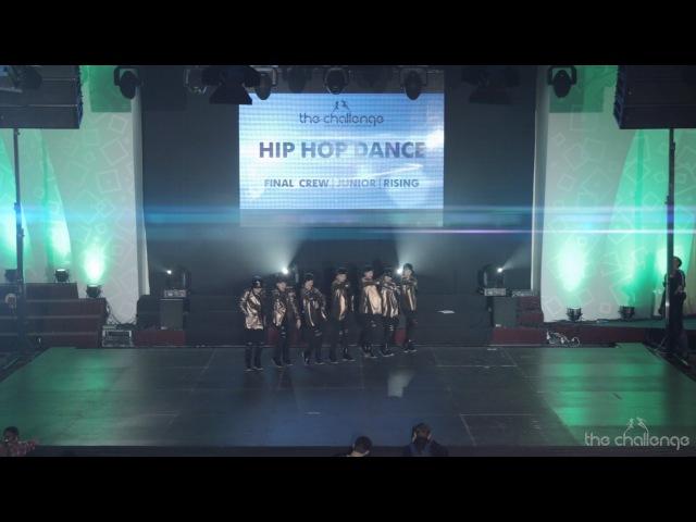 Winner Juniors Crew Pro Hip hop | lil D | The Challenge Dance Championship 2015