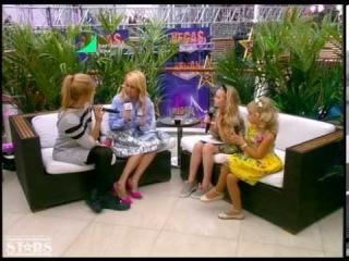 Детская Партийная Зона с Яной Рудковской на МУЗ-ТВ (31 мая 2015)