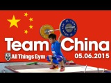 Chinese Team Training Hall 05 06 2015 Warm Up, Assistance Exercises