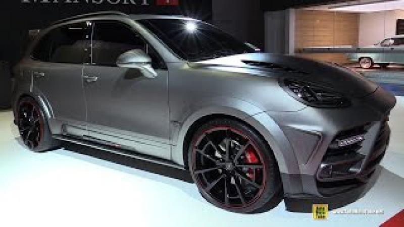 2015 Porsche Cayenne Turbo Mansory - Exterior, Interior Walkaround - 2015 Frankfurt Motro Show