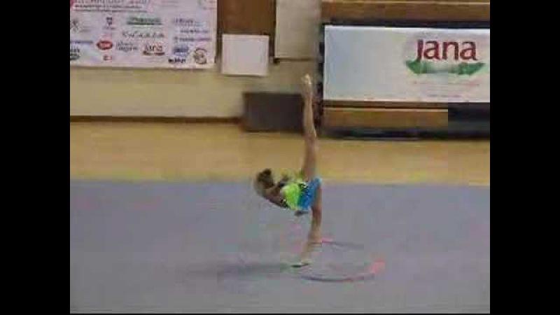 Anastasia Bliznyuk Hoop Ritam Cup 2007