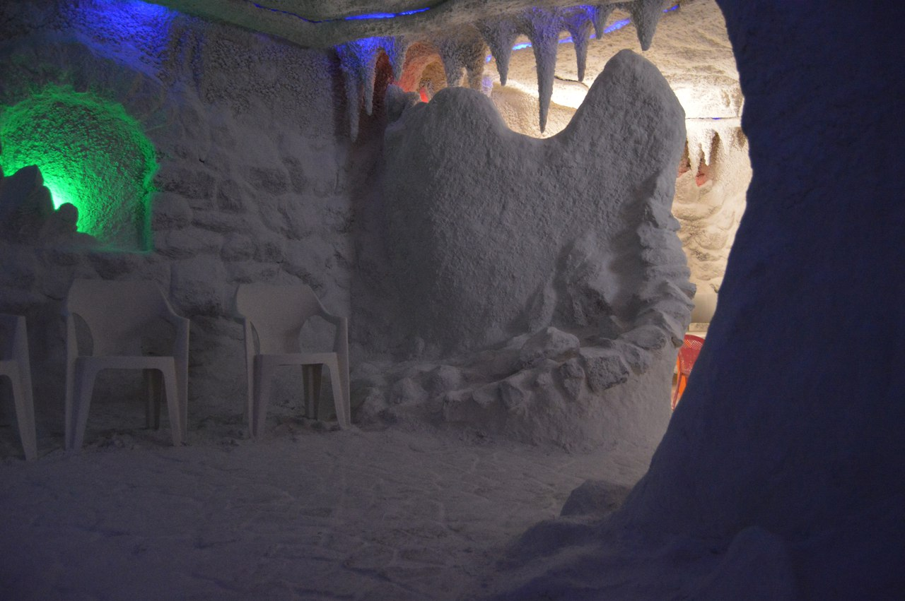 Соляная пещера Днепр