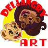 Del and Angry ART :D