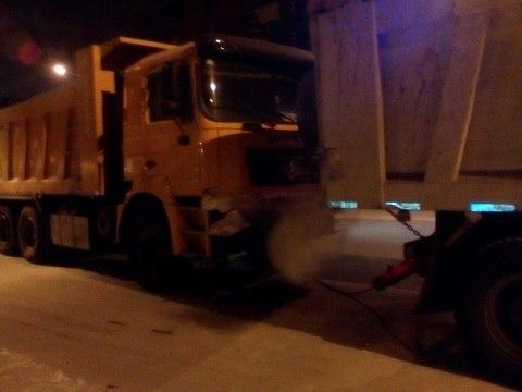 ДТП на ул.Хабарова: грузовик на буксире совершил наезд на женщину