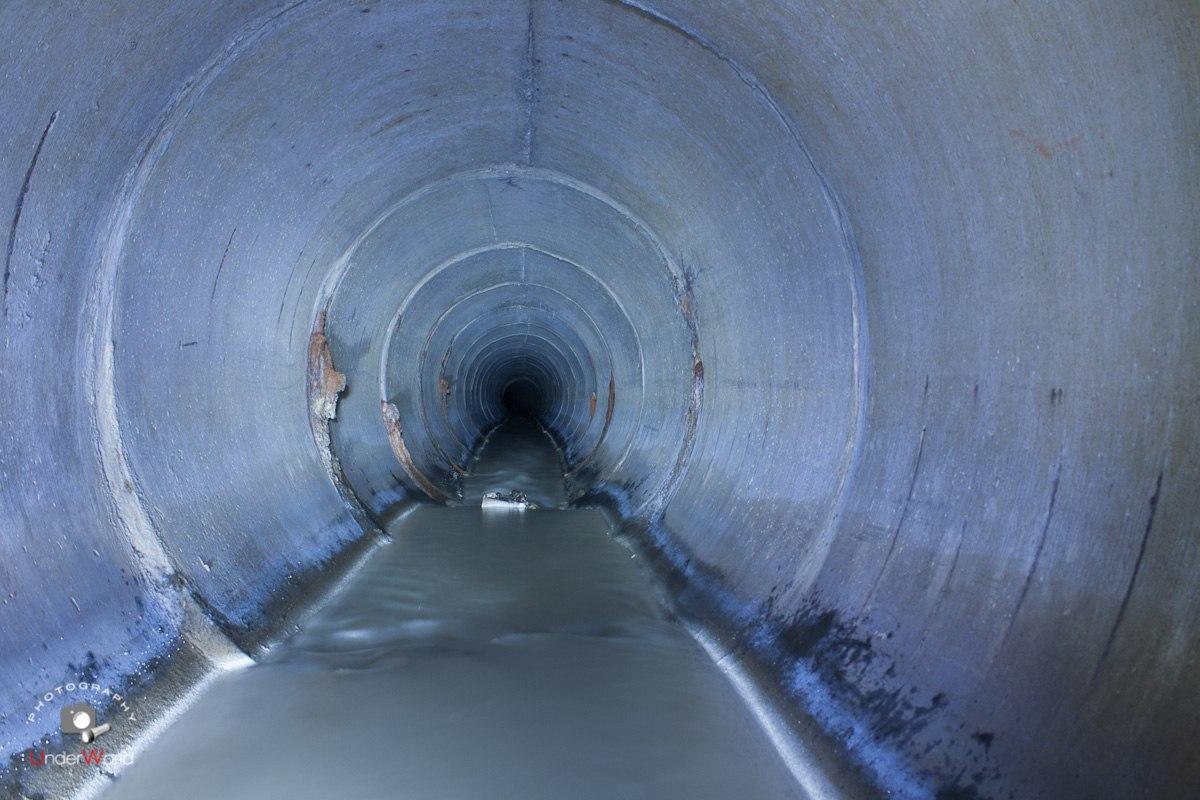 Сетунька - подземная река. Диггеры UnderWorld