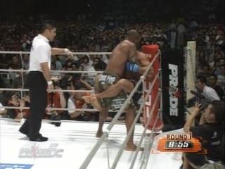 10 - Ricardo Arona vs Quinton Jackson [PRIDE Critical Countdown 2004]