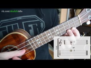 Форшлаг - на укулеле (ukuleleTabs)