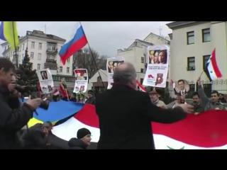 Сирийцы о России и Путине. Эти кадры никогда не покажут западные СМИ и тем более простым Украинцам! Россиянам есть кем гордиться